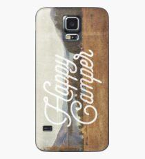 HAPPY CAMPER Case/Skin for Samsung Galaxy