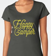 HAPPY CAMPER Women's Premium T-Shirt