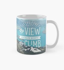 WORTH THE CLIMB Mug