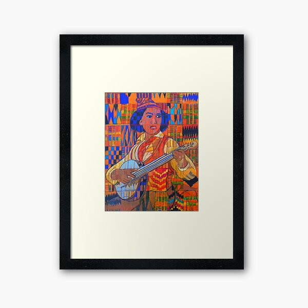 Banjo: Five Strings Framed Art Print