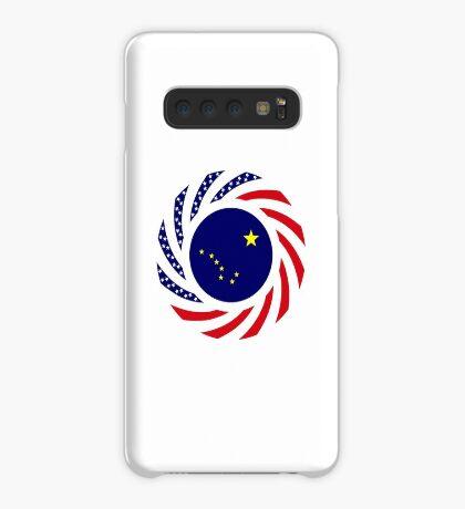 Alaskan Murican Patriot Flag Series Case/Skin for Samsung Galaxy