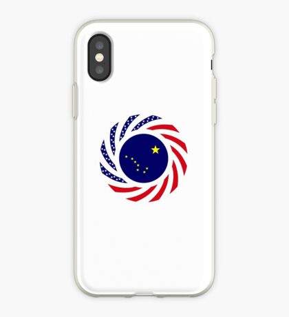 Alaskan Murican Patriot Flag Series iPhone Case