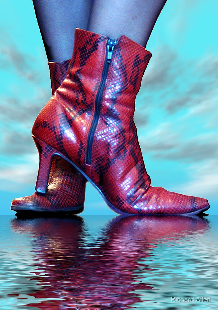 Snakeskin Boots by Lea Valley Photographic