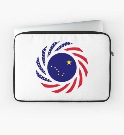 Alaskan Murican Patriot Flag Series Laptop Sleeve