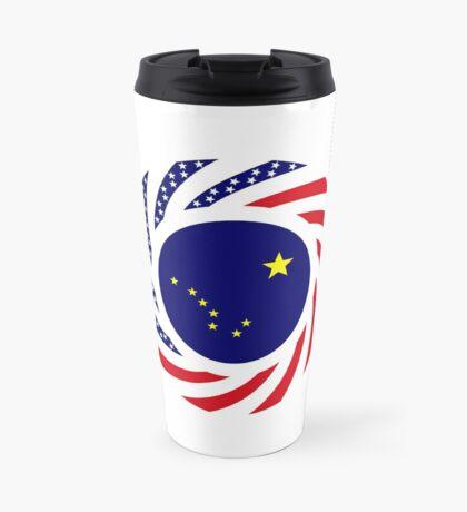 Alaskan Murican Patriot Flag Series Travel Mug
