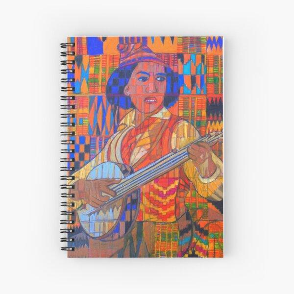 Banjo: Five Strings Spiral Notebook