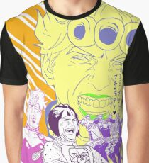 Jojo's Bizarre Adventure Meme Part 5 Bucciarati Laughing Tom Cruise  Graphic T-Shirt