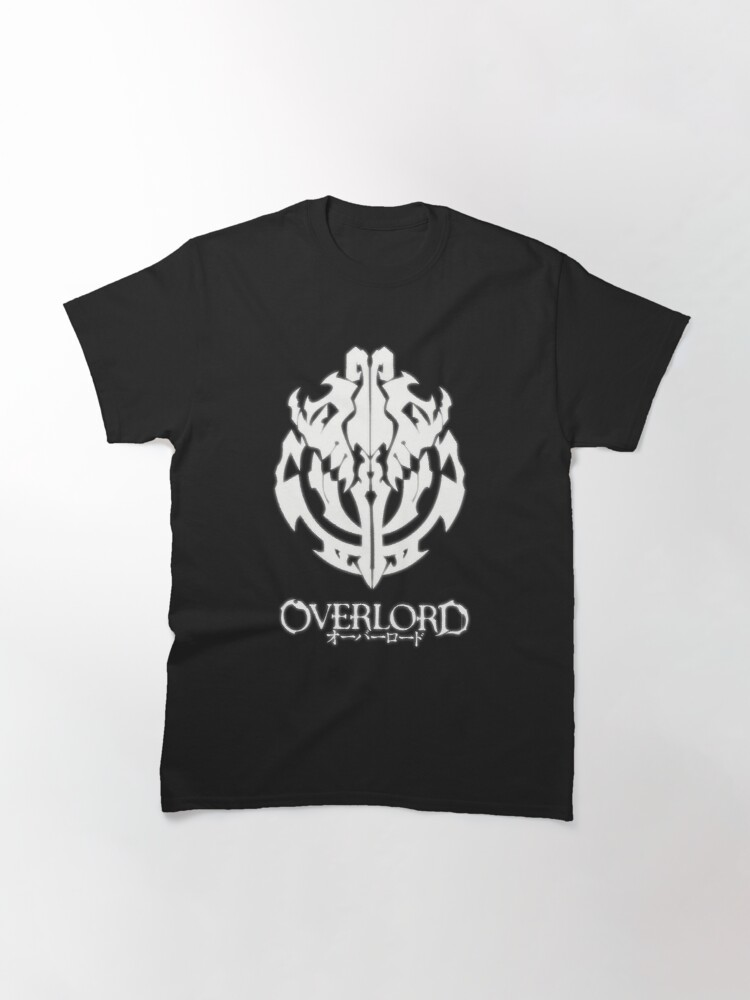 Alternate view of Overlord Anime - Guild Emblem - Ainz Ooal Gown - Classic T-Shirt