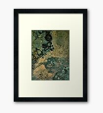 Continent Framed Print