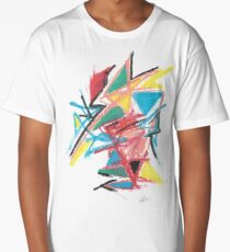 Primary Chaos Long T-Shirt