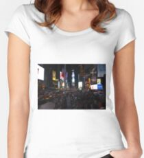 Multiplicity (Times Square) Women's Fitted Scoop T-Shirt