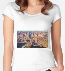 Arizona canyons Women's Fitted Scoop T-Shirt