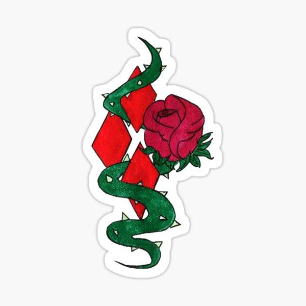 HarlIvy Tattoo Style Design Sticker