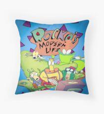 Rocko's Modern Family Throw Pillow