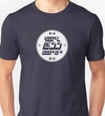 Gravel Less Traveled Slim Fit T-Shirt