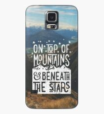 On Top Of Mountains Case/Skin for Samsung Galaxy