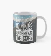 On Top Of Mountains Mug