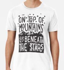 On Top Of Mountains Men's Premium T-Shirt
