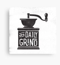 THE DAILY GRIND Canvas Print