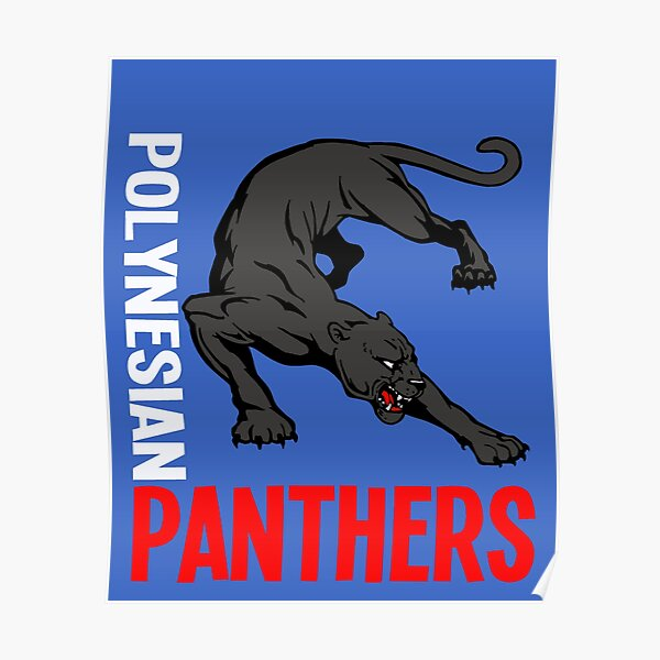Polynesian Panthers Poster
