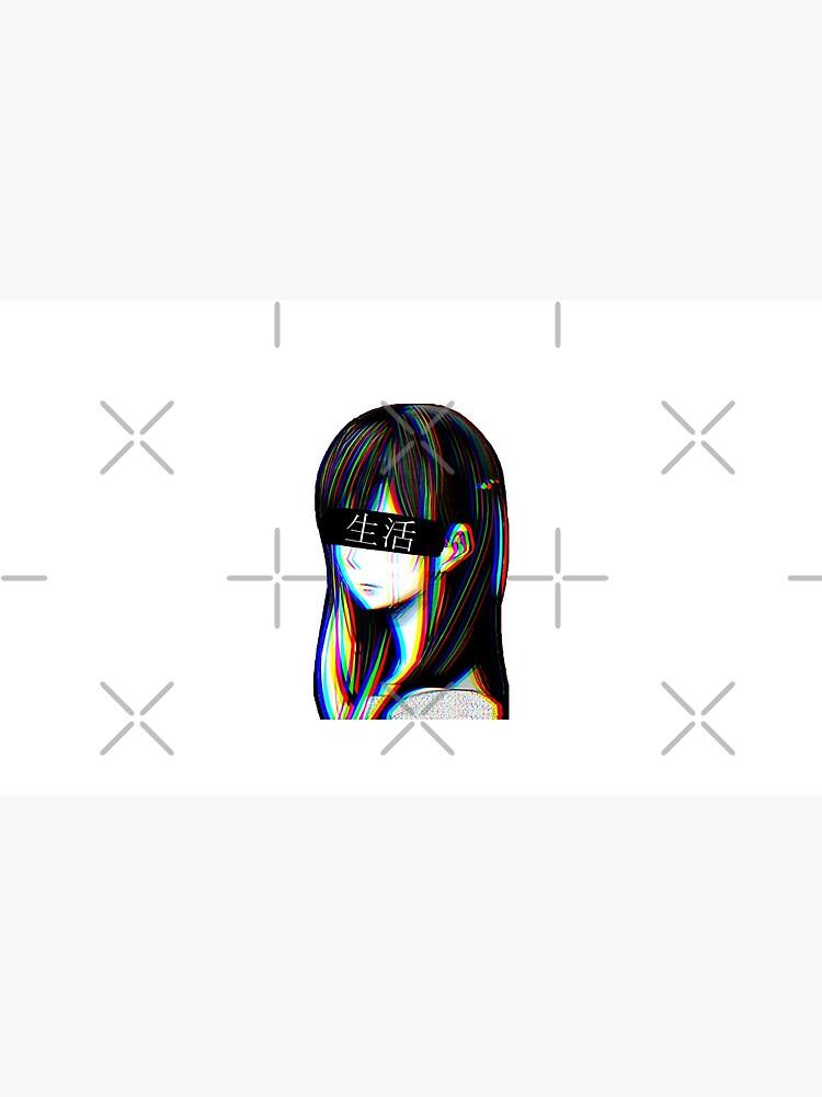 Ist das Art Sad Japanese Aesthetic (Japanische Version) von PoserBoy