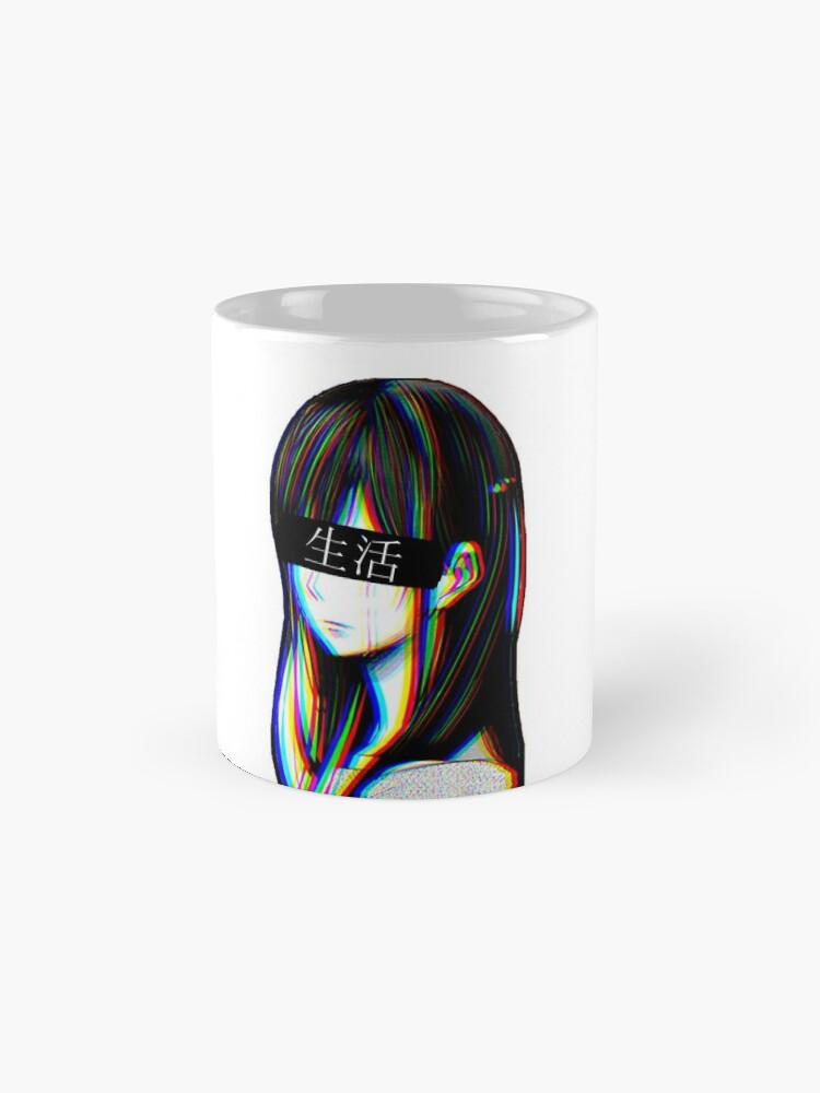 Alternative Ansicht von Ist das Art Sad Japanese Aesthetic (Japanische Version) Tasse