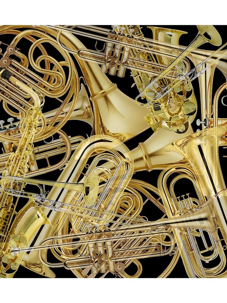 Brass Instruments by mollyfare