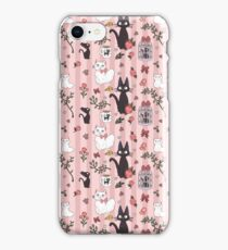 Jiji Cat Pattern iPhone Case/Skin