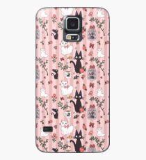 Funda/vinilo para Samsung Galaxy Patrón de Jiji Cat
