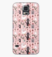 Jiji Cat Pattern Case/Skin for Samsung Galaxy