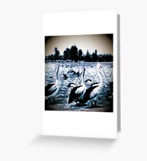 Pelican Bay Blue Ocean Greeting Card