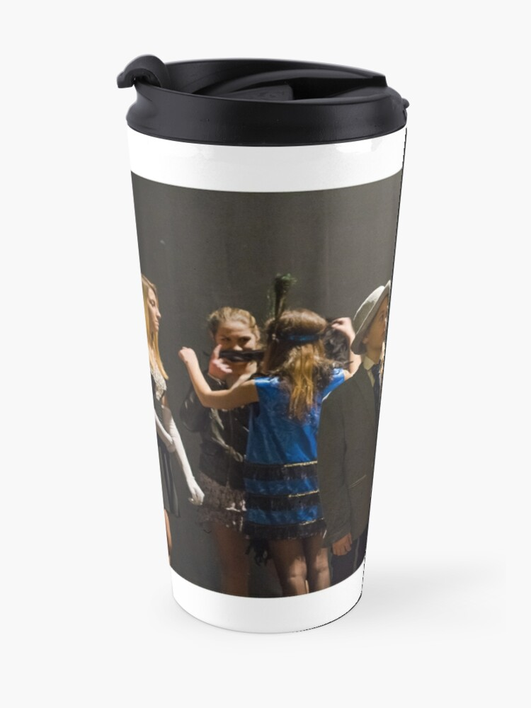 """Alternate view of """"Well Knuckles..."""" Travel Mug"""