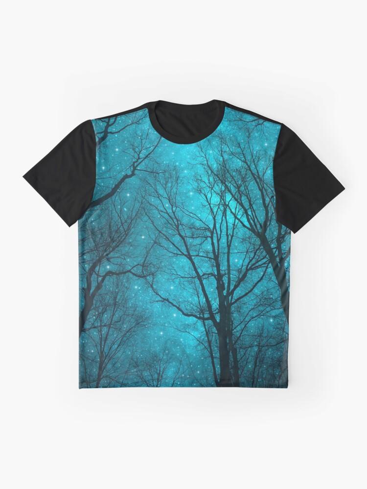 Alternative Ansicht von Sterne können nicht ohne Dunkelheit leuchten Grafik T-Shirt