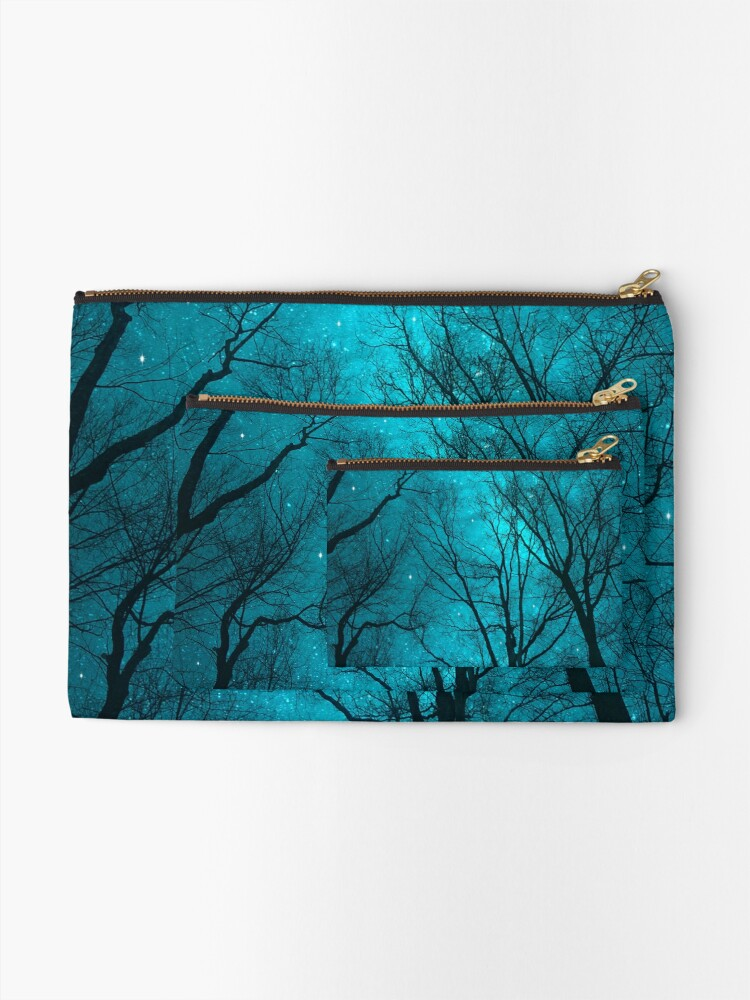 Alternate view of Stars Can't Shine Without Darkness Zipper Pouch