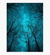 Stars Can't Shine Without Darkness Photographic Print