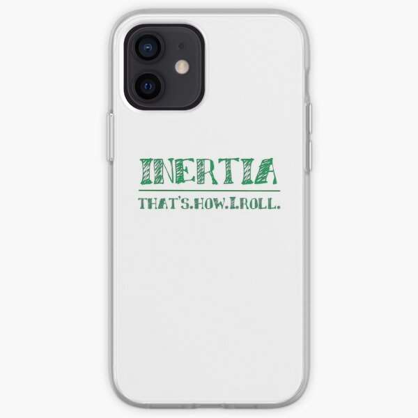 Intertia: How I Roll in Physics iPhone Soft Case