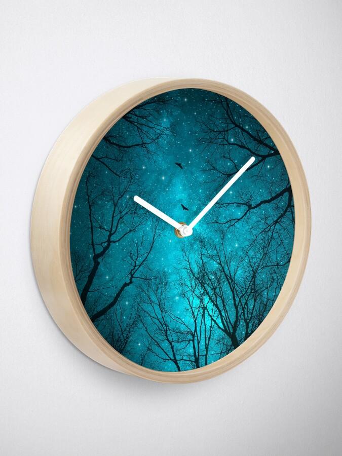 Alternative Ansicht von Sterne können nicht ohne Dunkelheit leuchten Uhr