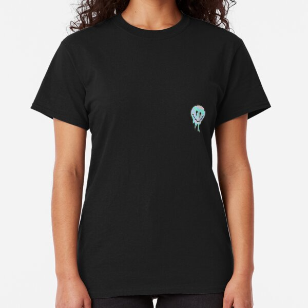 Holographic Melting Smiley Classic T-Shirt