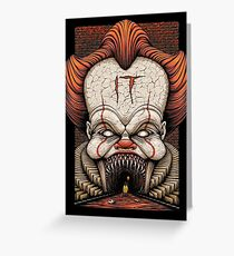 IT - Movie  Greeting Card