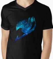 Fairy Tail Space Guildmark Men's V-Neck T-Shirt