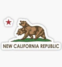 New California Republic (NCR) Sticker