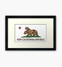 New California Republic (NCR) Framed Print
