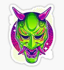Neon Noh - Hannya Sticker