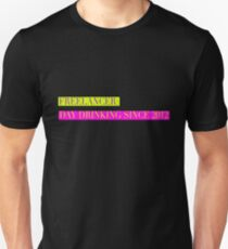 Freelancer: Day Drinking Since 2012 T-Shirt
