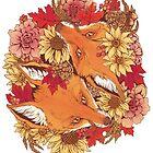 Autumn Fox Bloom by Kellie Lamphere