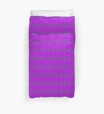 Lavender and Lavender Argyle Duvet Cover