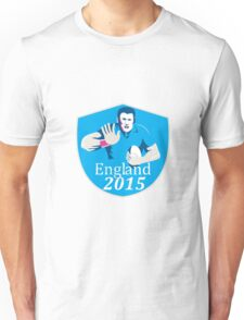 Rugby Player Fending England 2015 Shield Unisex T-Shirt