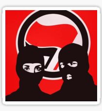 ANTIFA - AFA Masked Protest Flag Sticker