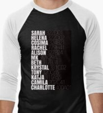 Orphan Black Clone Names With Tag Numbers T-Shirt