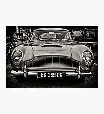 Aston Martin DB5  Photographic Print